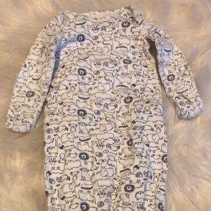 Baby boy nightgown